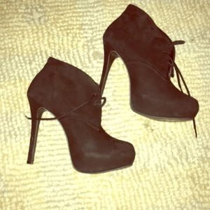 Steve madden, ankle boots women's size 7 leather